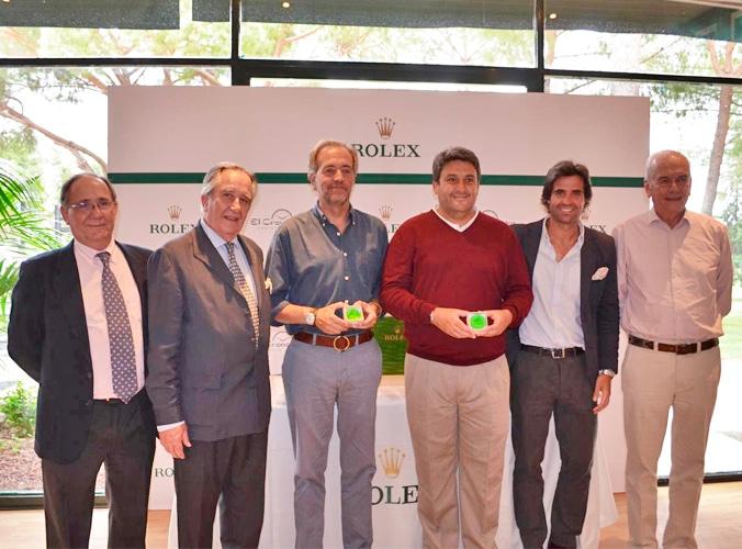 Entrega De Los Premios Del Torneo Rolex De Golf