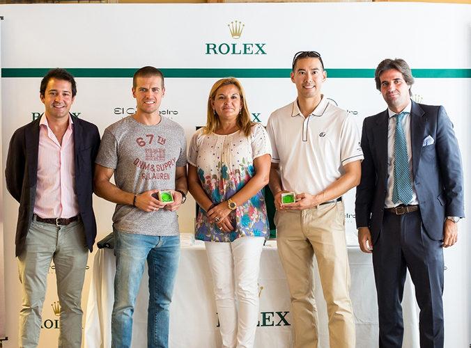 Alejandro Ruiz Gil Y Darren Chang Ganadores Del Trofeo Rolex